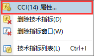 Exness外汇MT4上如何设置修改CCI指标的颜色